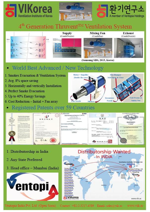 VIKorea   Ventilation Institute of Korea Ltd  representing